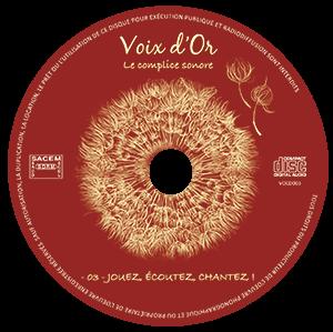 CD N°3 : Jouez, écoutez, chantez !